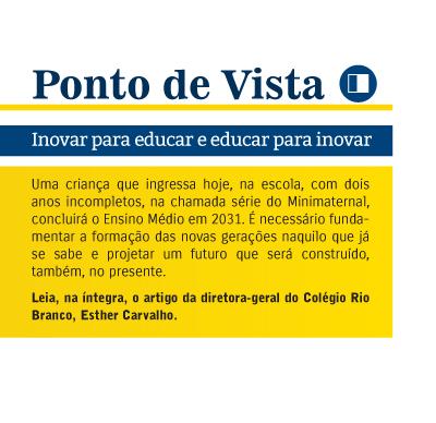 Ponto de Vista: Inovar para educar e educar para inovar