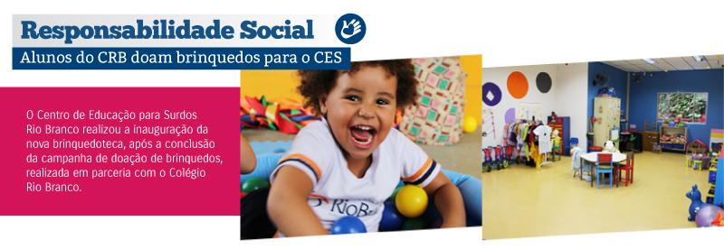Centro de Educação para Surdos Rio Branco reinaugura brinquedoteca