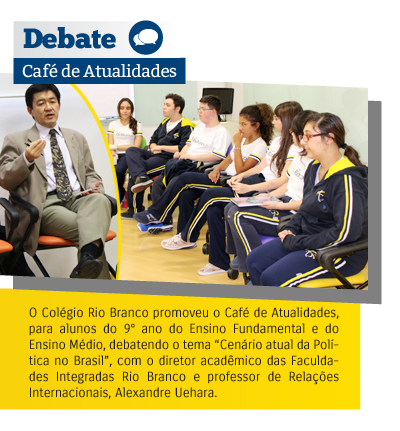 Café de Atualidades debate o cenário político do Brasil