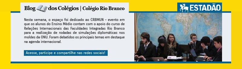 Blog dos Colégios - Colégio Rio Branco - Estadão