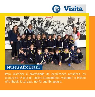 Alunos realizam passeio para o Museu Afro Brasil