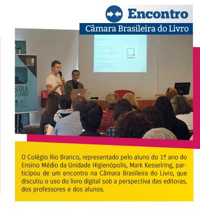 Encontro - Câmera Brasileira do Livro