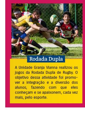 Rodada Dupla de Rugby no Colégio Rio Branco