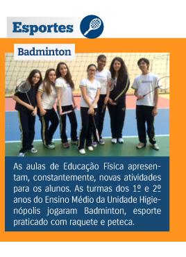 Esportes Badminton