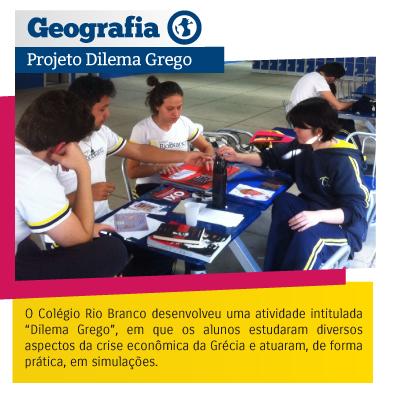 Geografia - Projeto Dilema Grego