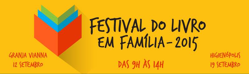 Festival do livro em Família - 2015