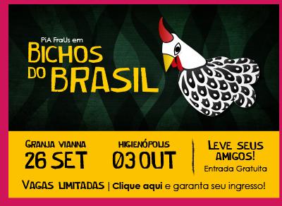 """""""Bichos do Brasil"""" da Cia. PiA FraUs no CRB!"""
