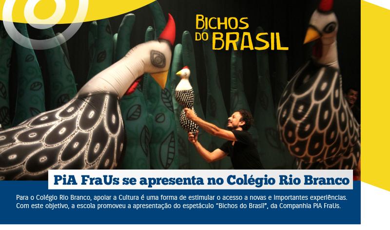 """Bichos do Brasil"" no Colégio Rio Branco"