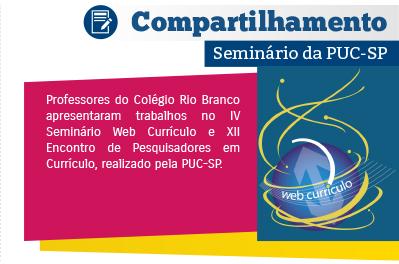 Professores participam do IV Seminário Web Currículo
