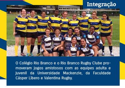 Amistosos de Rugby no Colégio Rio Branco