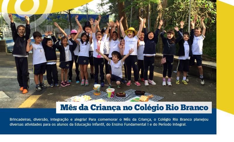 Mês da Criança no Colégio Rio Branco