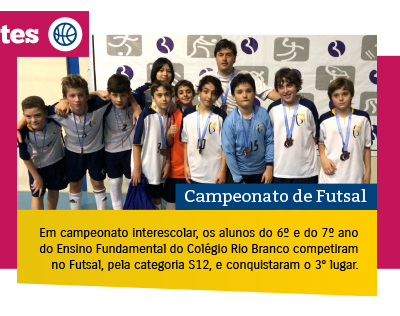 Alunos participam de Campeonato de Futsal