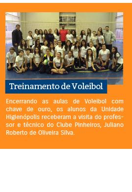 Treinamento de Voleibol