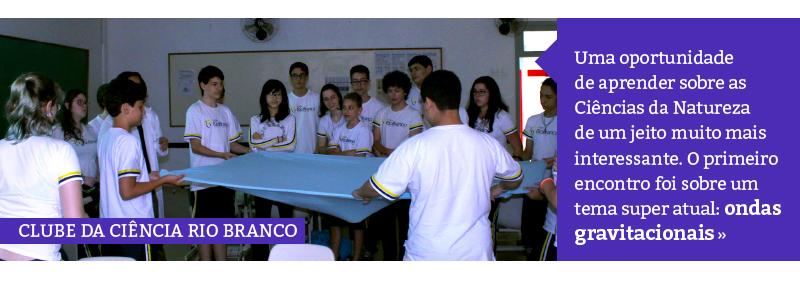 Clube de Ciências Rio Branco: ondas gravitacionais