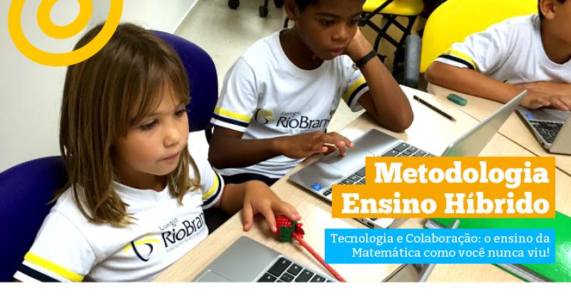 Tecnologia e Colaboração: o ensino da Matemática como você nunca viu!
