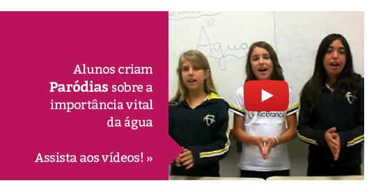Criatividade e Consciência: alunos criam paródias sobre a importância da água