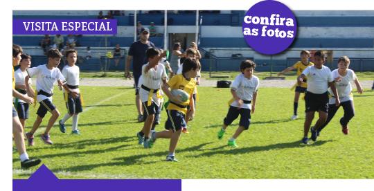 Rio Branco Rugby recebe colégio para uma tarde de amistosos