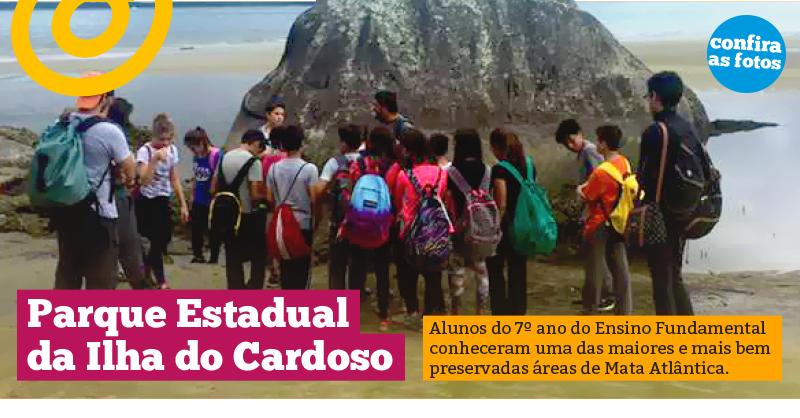 Estudo de Meio no Parque Estadual da Ilha do Cardoso