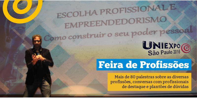 Feira de Profissões no Colégio Rio Branco