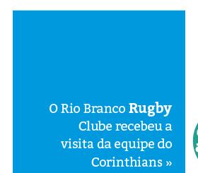 Rio Branco Rugby Clube recebe visita do Corinthians