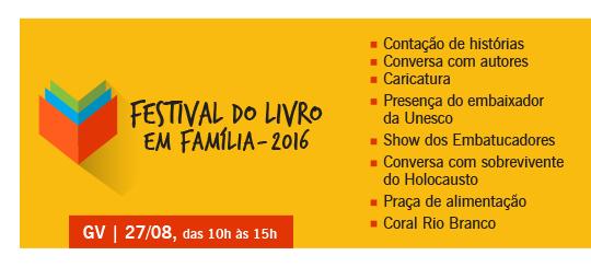 Festival do Livro em Família