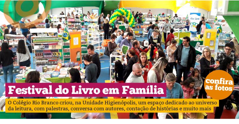 Festival do Livro em Família – Unidade Higienópolis