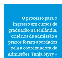 Como se candidatar para cursos de graduação na Finlândia