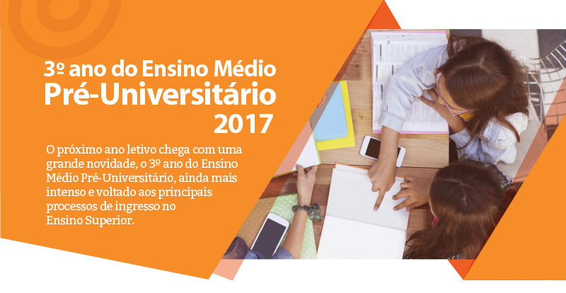 3º ano do Ensino Médio Pré-Universitário