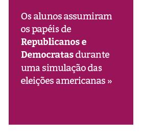 Simulação das eleições americanas