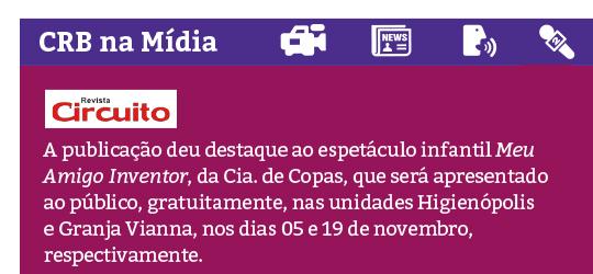CRB na Mídia - Revista Circuito