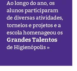 Grandes Talentos Rio Branco – Unidade Higienópolis