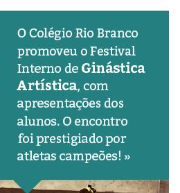 1° Festival Interno de Ginástica Artística