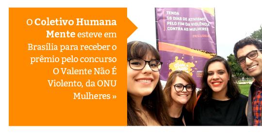 Vídeo do Coletivo Humana Mente é duplamente premiado em Brasília