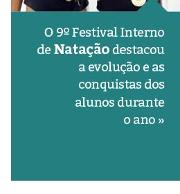 9º Festival Interno de Natação