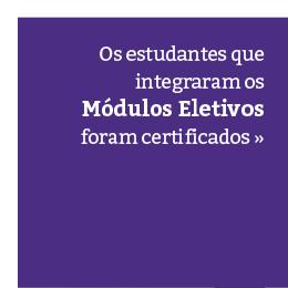 Certificação dos Módulos Eletivos