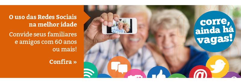 Curso: O uso das Redes Sociais na melhor idade