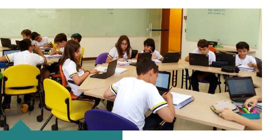 Tecnologia e Matemática: alunos utilizam ferramentas do Google for Education