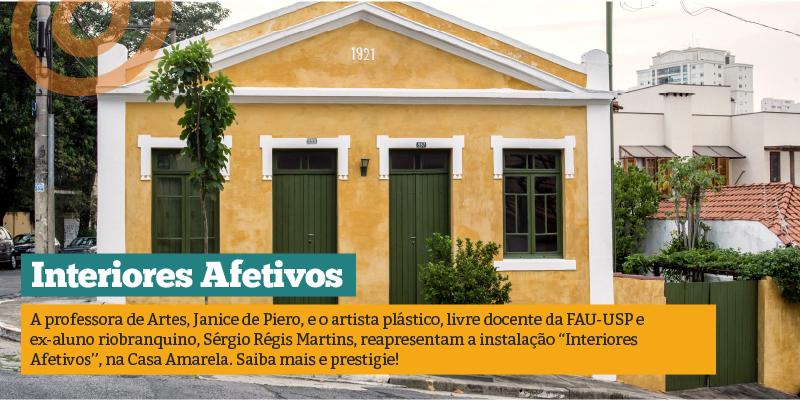 Interiores Afetivos: professora de Artes e ex-aluno apresentam exposição