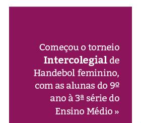 Intercolegial: Handebol feminino