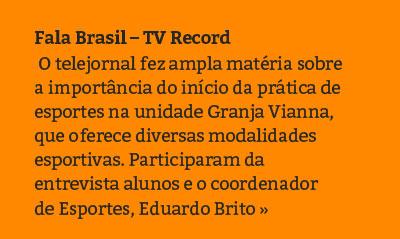 Fala Brasil - TV Record