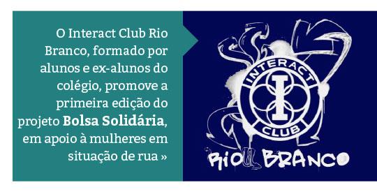 Interact: Projeto Bolsa Solidária