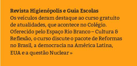 Revista Higienópolis e Guia Escolas