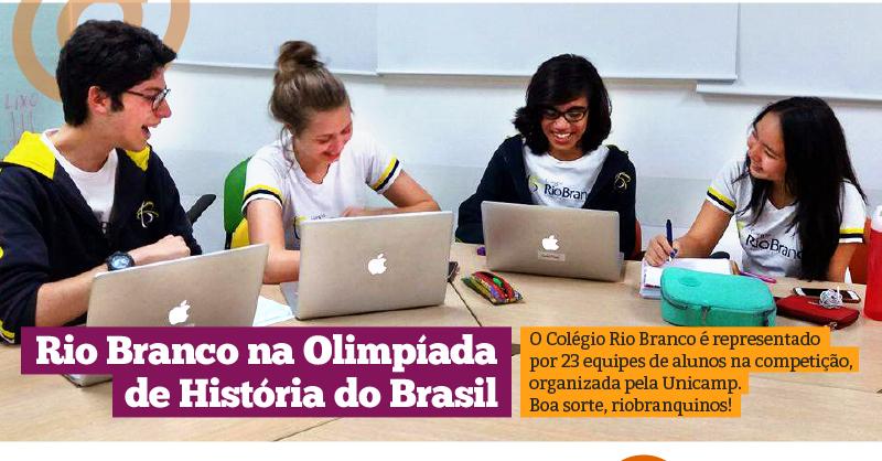 Preparatória para a 9ª Olimpíada Nacional de História do Brasil