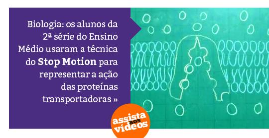 A reprodução de bactérias foi representada com massinhas de modelar e Stop Motion