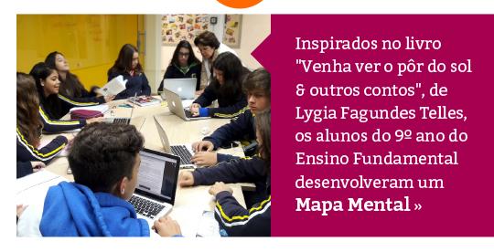 Língua Portuguesa e Tecnologia na criação de Mapa Mental