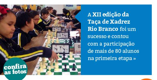 XII edição da Taça de Xadrez Rio Branco