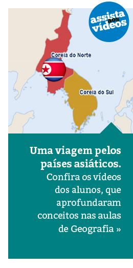 Geografia: alunos fazem vídeos sobre a Ásia