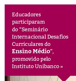 Educadores do Rio Branco participam de seminário sobre a reforma do Ensino Médio
