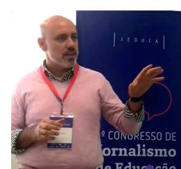 Diretor da Unidade Higienópolis fala sobre o Enem em Congresso de Jornalismo de Educação