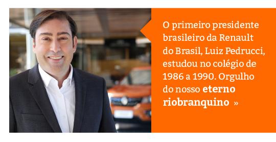 Ex-aluno do Colégio Rio Branco é o novo Presidente da Renault Brasil